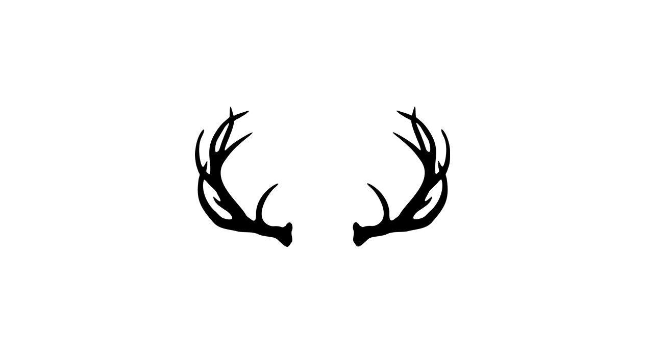 1264x694 Vector Deer Antler Clip Art Deer Antler By Donaldmorrisgraphics