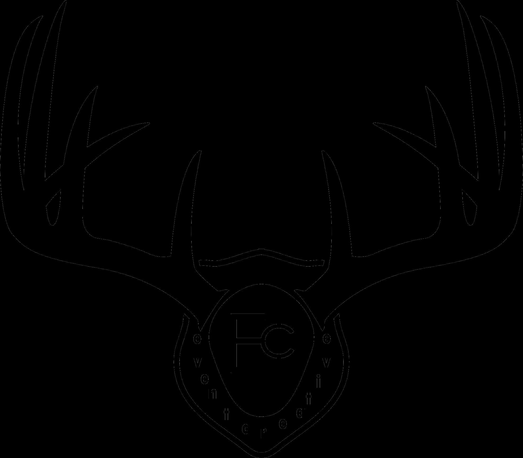 1979x1734 Buck Clipart Moose Antler