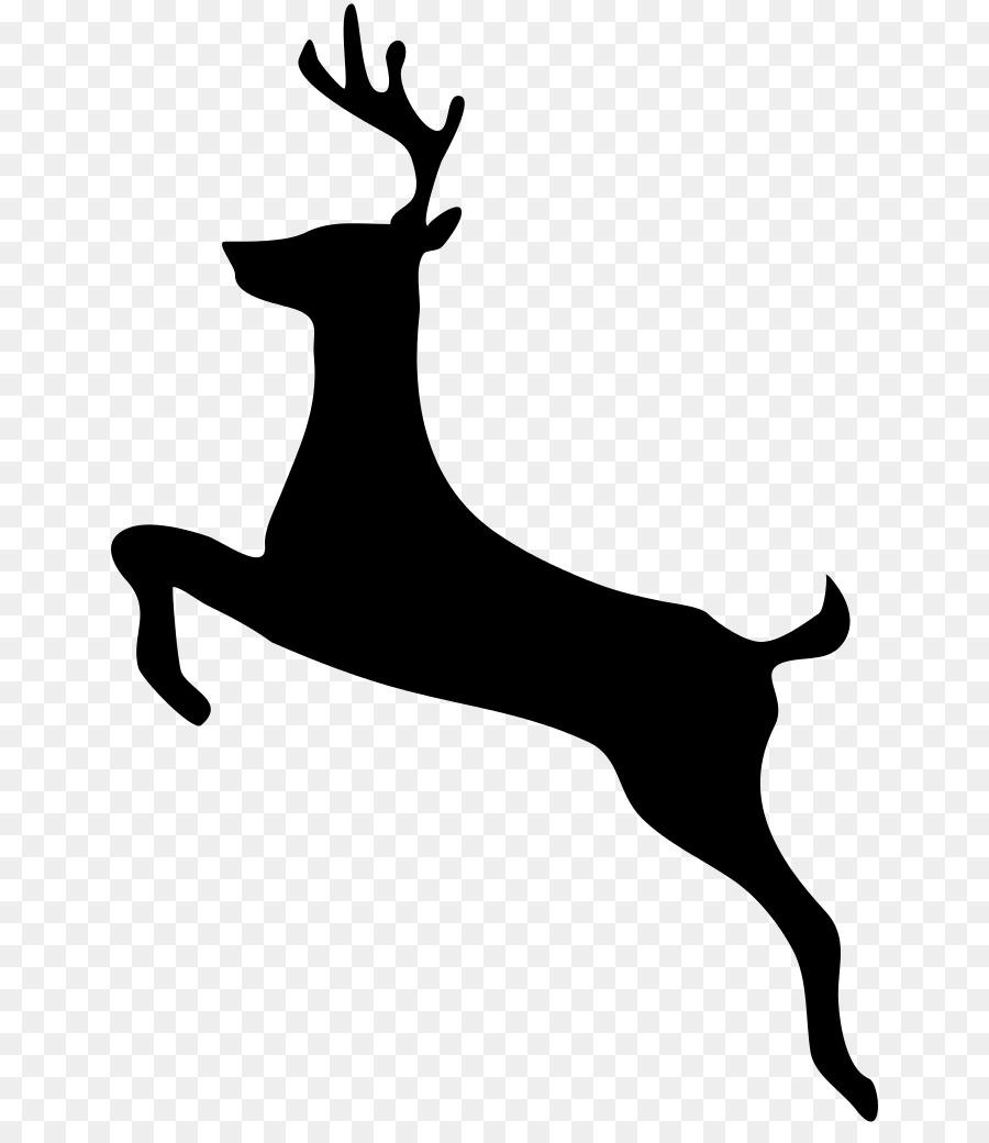 900x1040 White Tailed Deer Moose Clip Art
