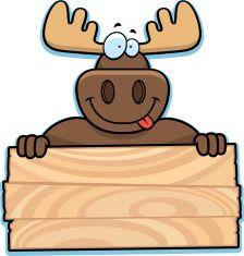 224x235 Moose Sign Vector Art Illustration Moose Moose