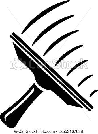 346x470 Window Mop Icon, Simple Style. Window Mop Icon. Simple
