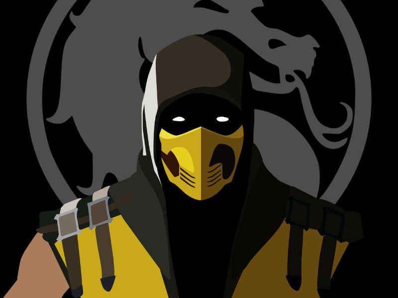 Mortal Kombat Vector at GetDrawings com | Free for personal use