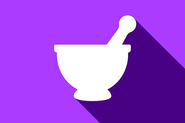 600x400 Vector Mortar And Pestle