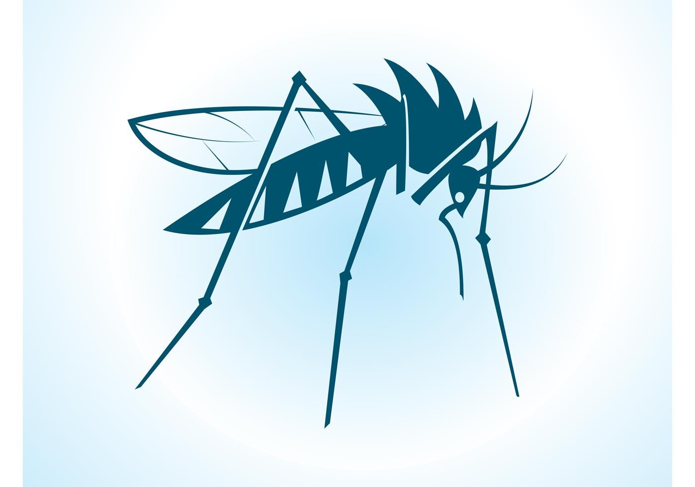1400x980 Mosquito Free Vector Art