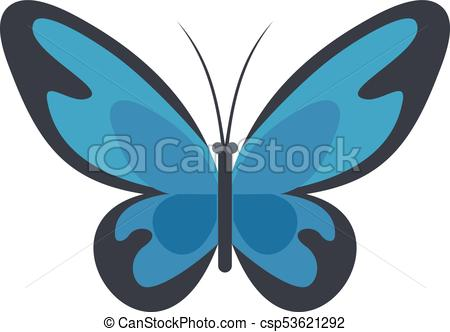 450x332 Flying Moth Icon, Flat Style. Flying Moth Icon. Flat Illustration