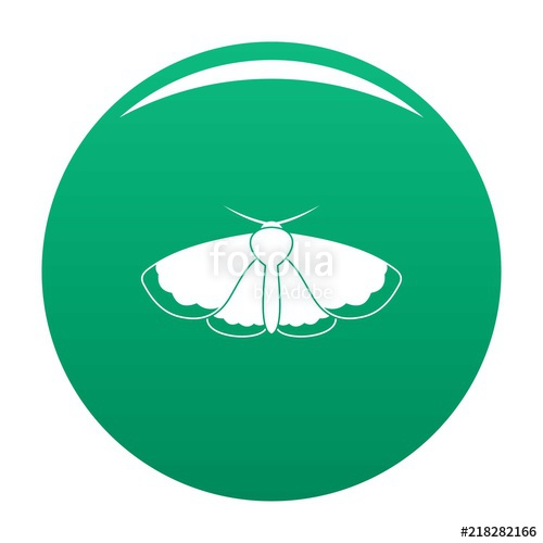 500x500 Moth Icon. Simple Illustration Of Moth Vector Icon For Any Design
