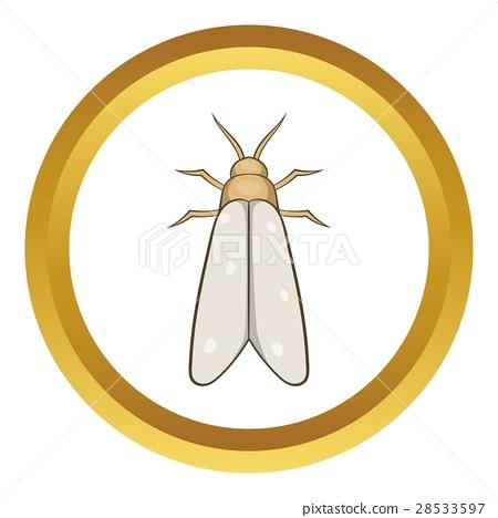 450x468 Moth Vector Icon