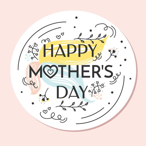 490x490 Happy Mothers Day Vector