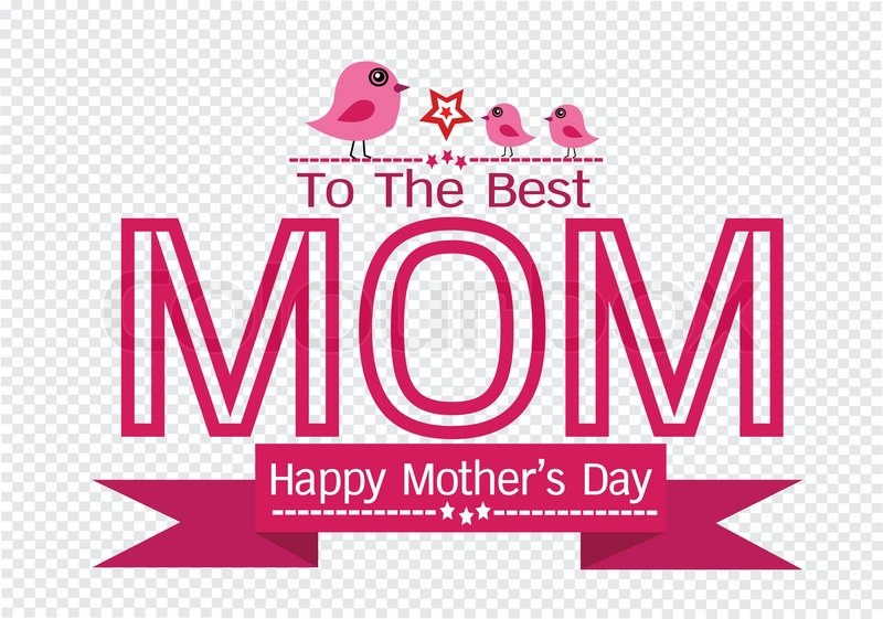 800x561 Happy Mothers Day Greeting Card Design For Your Mom Stock Vector