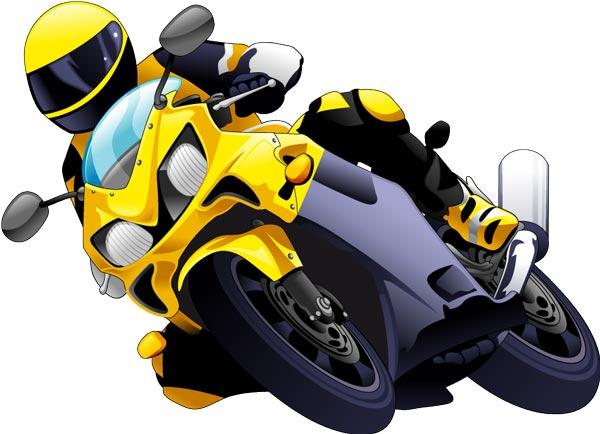 600x434 Racing And Off Road Moto Vectors