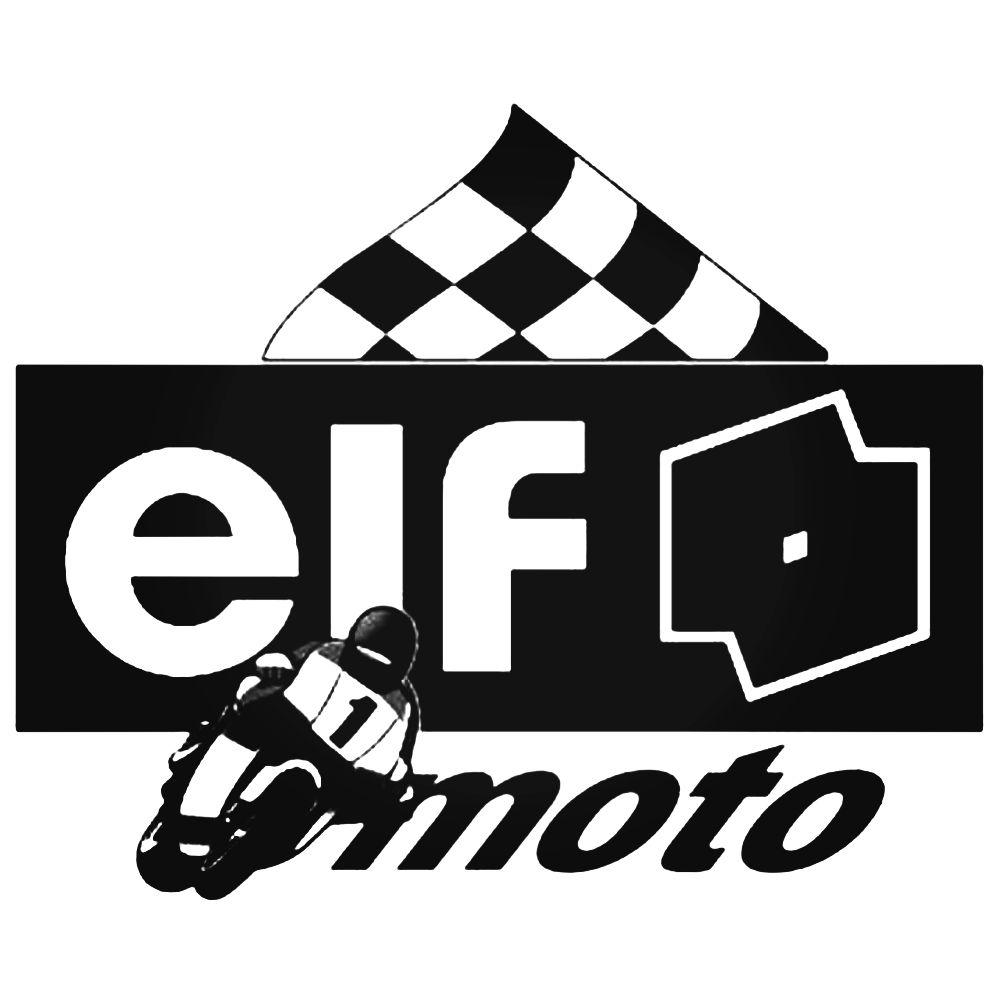 1000x1000 Elf Moto Logo Vector Aftermarket Decal Sticker