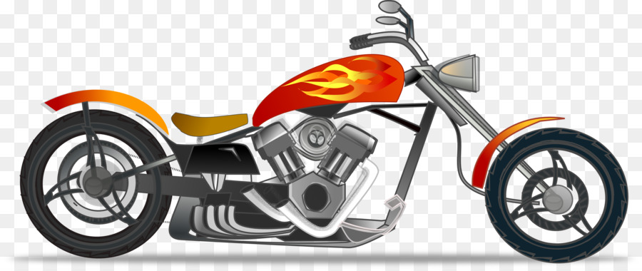 900x380 Helicopter Chopper Motorcycle Clip Art