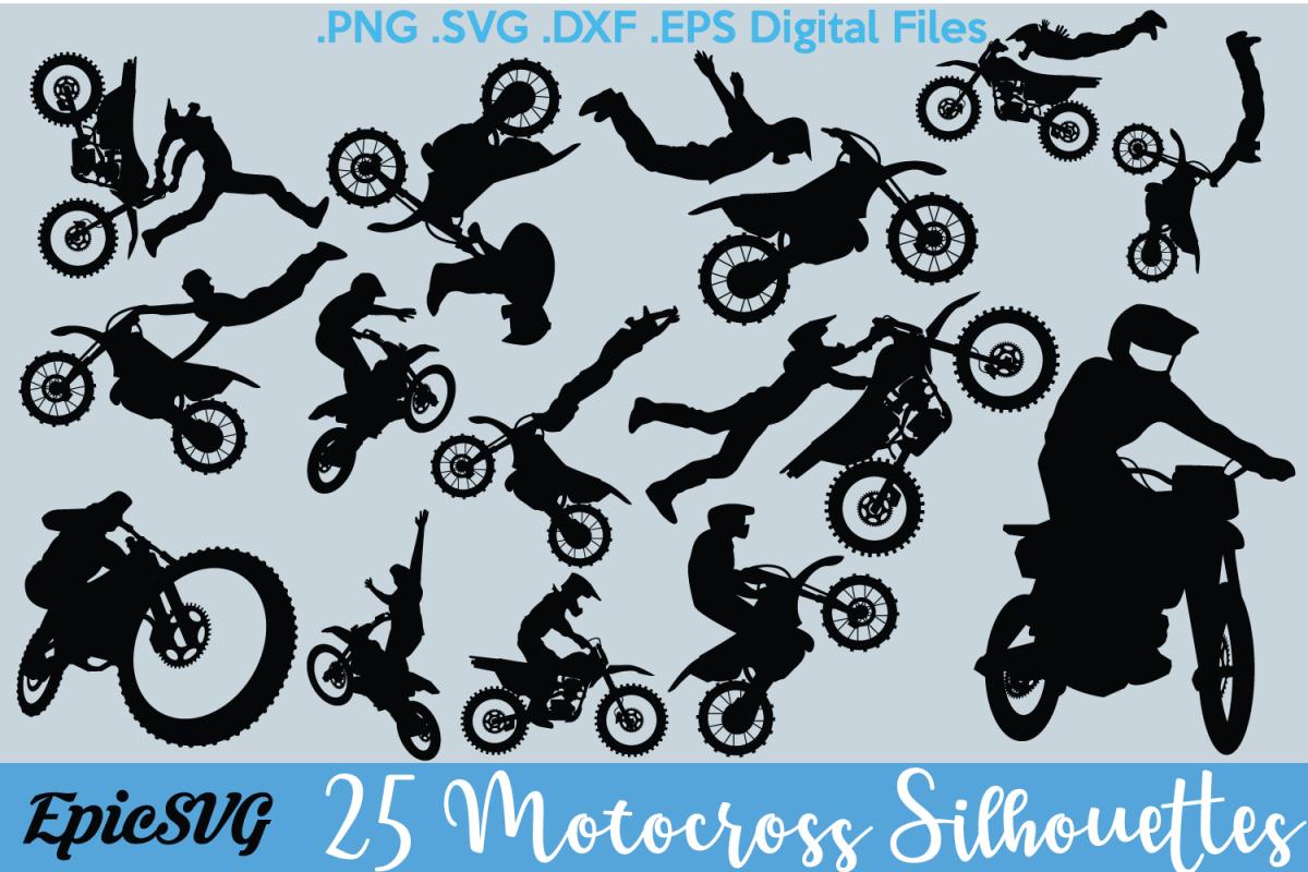 Motocross Vector Graphics