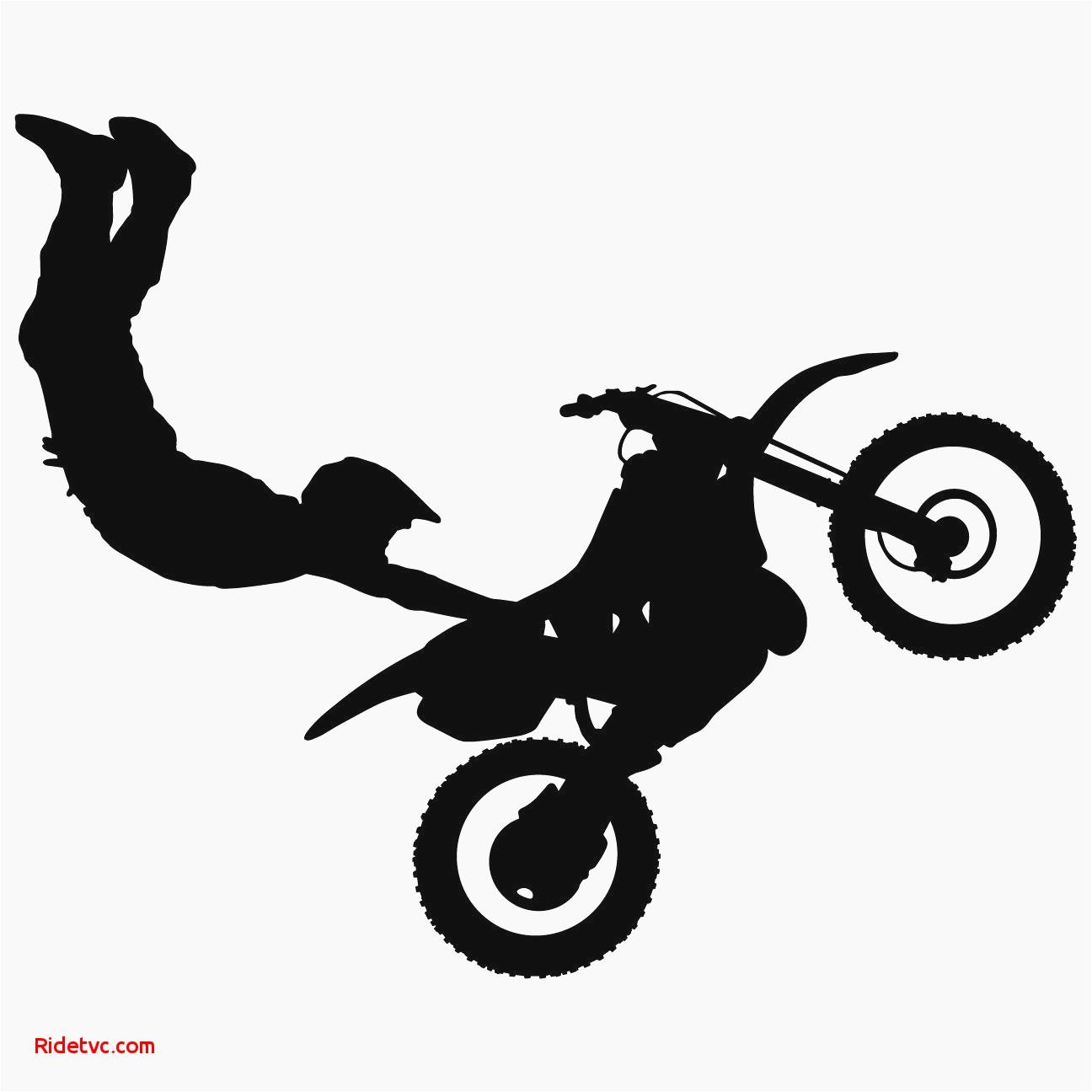 1296x1296 Dirt Bike Vector Graphics Unique Motocross Dirt Bike Wall Decal