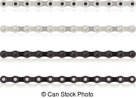 269x194 Bike Chain Background. A Bicycle Chain And The Driving And... Clip