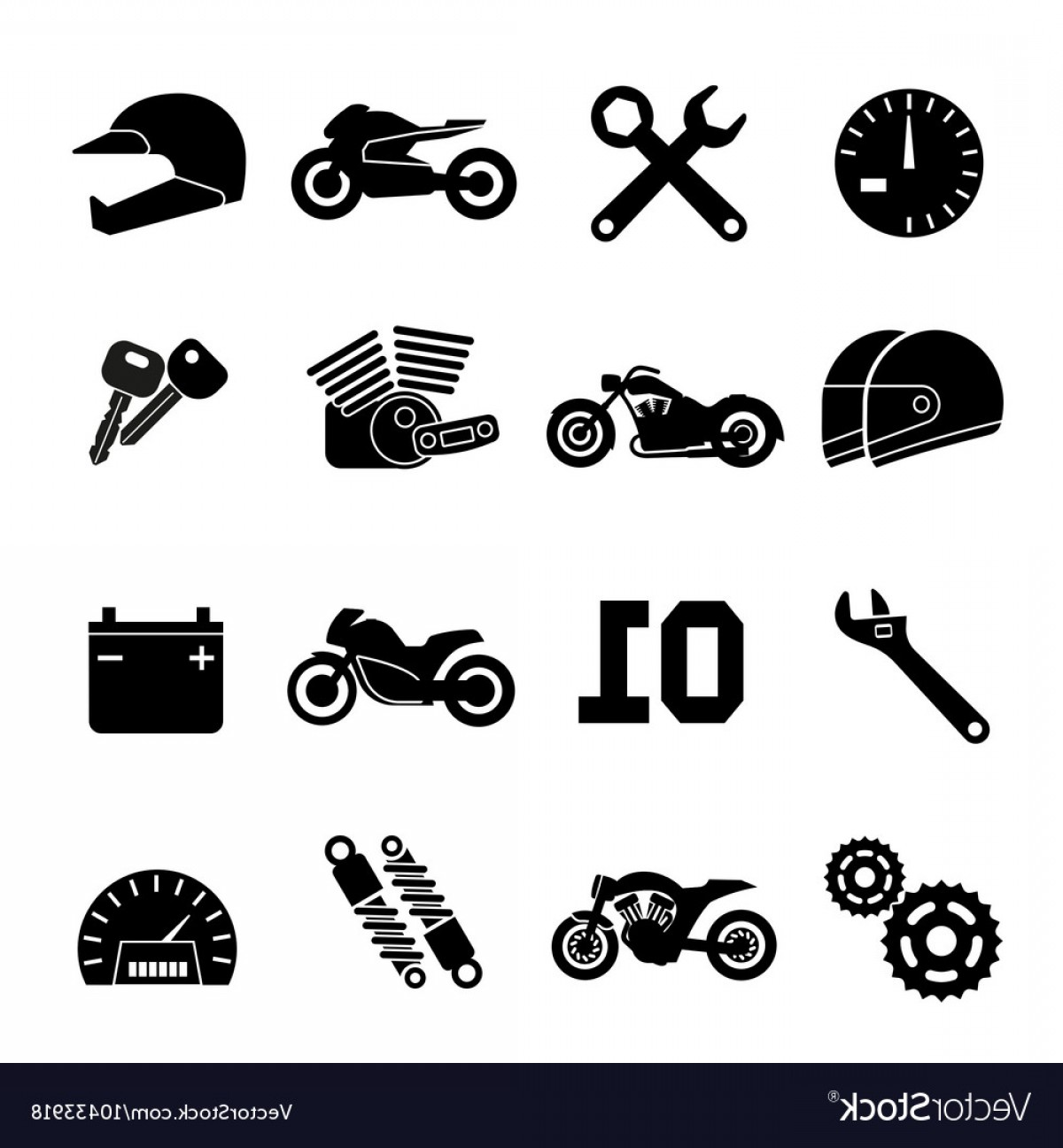 Motorcycle Parts Vector At Getdrawings Com Free For Personal Use