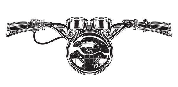 600x295 Motorcycle Parts By Clint Ford, Via Behance Moto