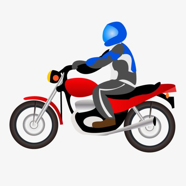 650x651 Vector Simple Motorcycle Riders, Simple, Motorcycle, Horseman Png