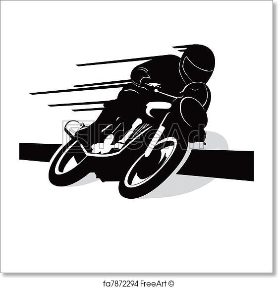 561x581 Free Art Print Of Motorcycle Vector Background. Motorcycle Vector