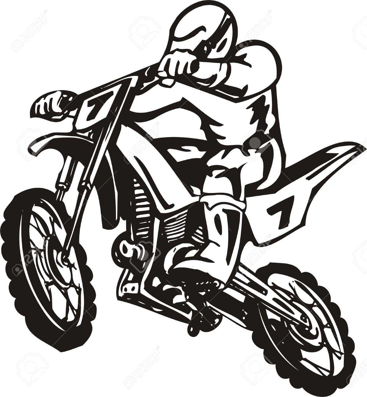 Motorcycle Vector Images