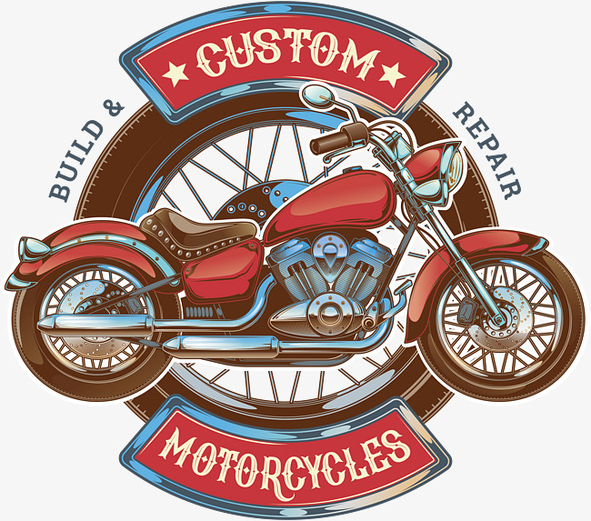 650x573 Red Retro Motorcycle, Vector Png, Motorola, Motorcycle Png And