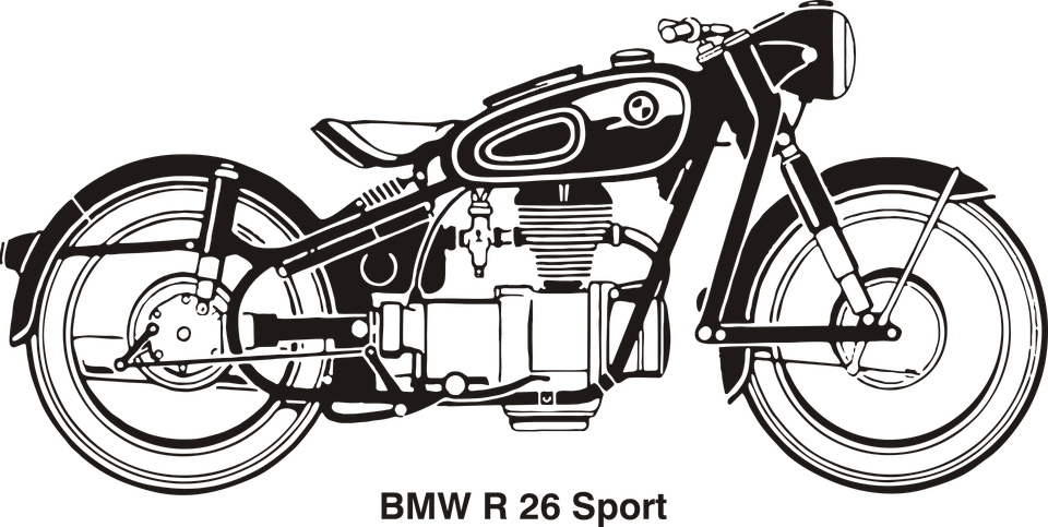 Motorcycle Vector Png