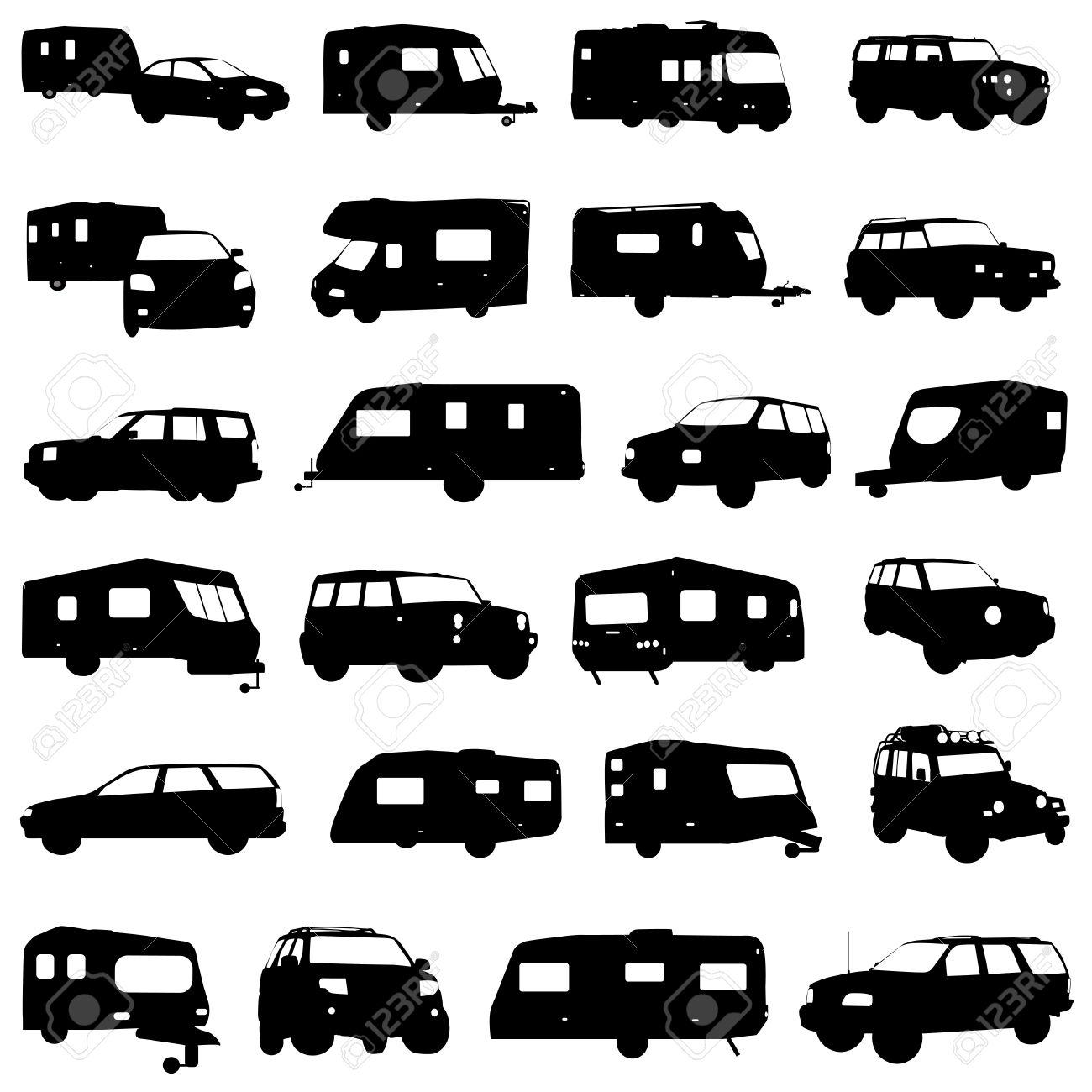 1300x1300 Caravan Clipart Motorhome 3131811