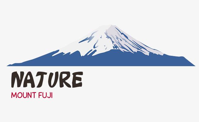 650x400 Vector Mount Fuji, Mount Fuji, Vector, Japan Png And Vector For