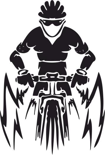 356x525 Mountain Bike Vector Free Vector Download
