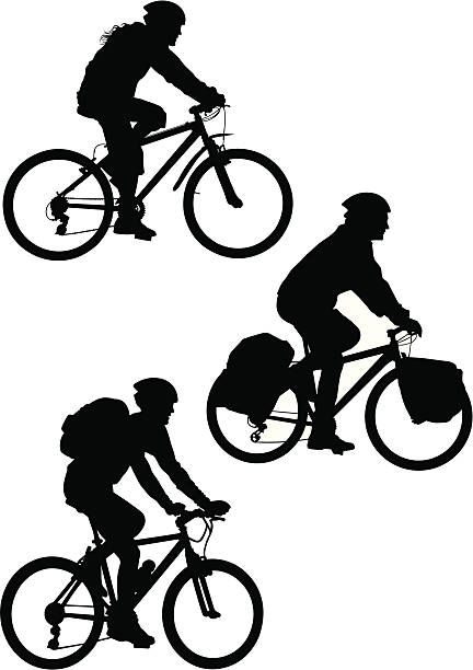 432x612 Mountain Bike Vector Art Illustration Desain Logo Sepeda