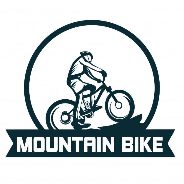626x626 Mountain Bike Logo Vector Premium Download