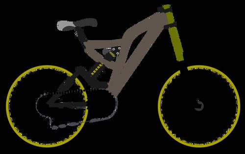 500x315 Mountain Bike Vector Graphics Public Domain Vectors