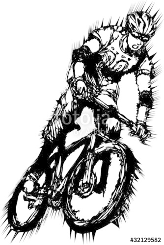 334x500 Mountain Biking Stock Image And Royalty Free Vector Files On