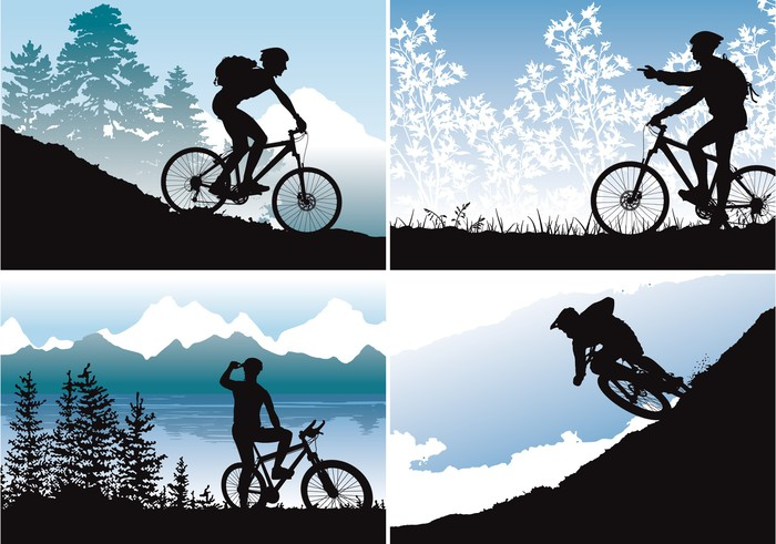 700x491 Mtb Vector Wallpapers Sticker We Live To Change