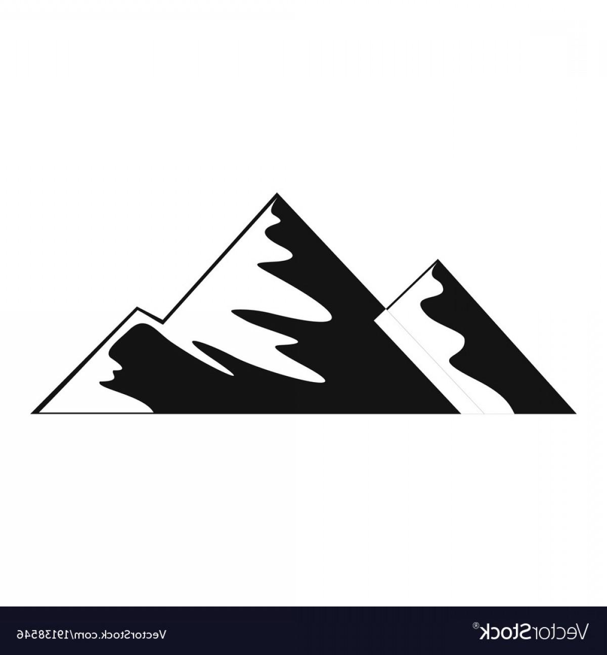1200x1296 Mountain Icon Vector Geekchicpro