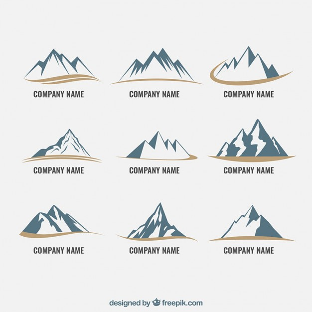 626x626 Mountain Icons Vector Free Download