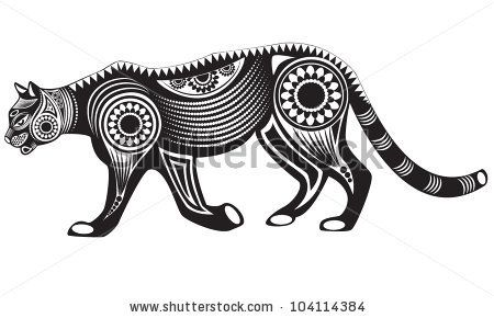 450x290 Vector Illustration Of Wild Totem Animal