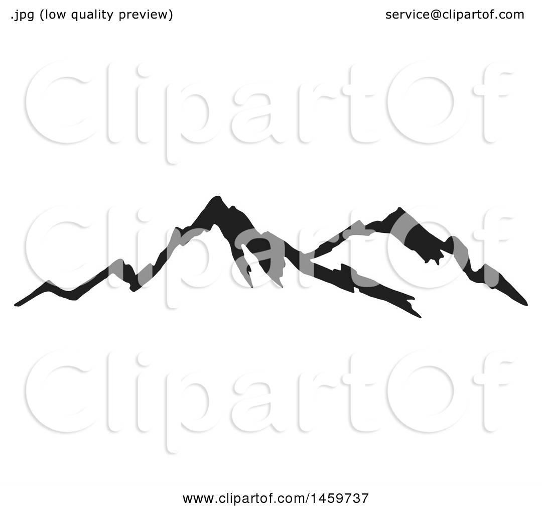 1080x1024 Mountain Range Vector Art