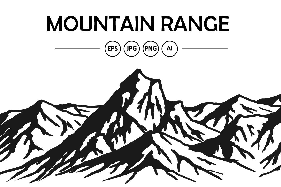 1161x773 Mountain Range Vector Bundle By Msa Graphics