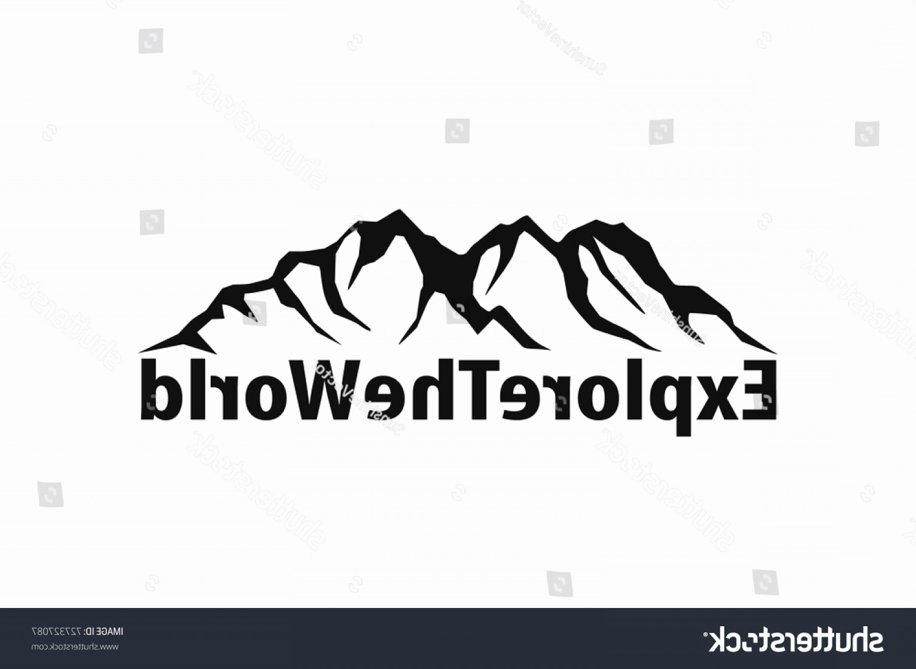 1800x1315 Mountain Range Vector Inspirational Mountains Vector Art Shopatcloth