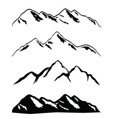 380x400 Mountain Ranges Vector 296797