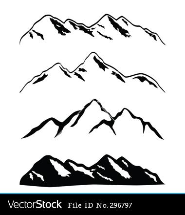 380x440 Mountain Range Clip Art Mountain Ranges Vector 380440 To Try