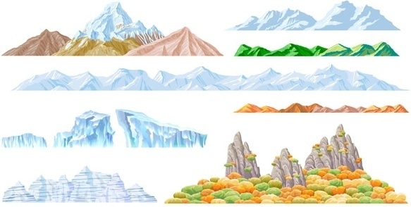 583x294 Mountain Free Vector Download (579 Free Vector) For Commercial Use