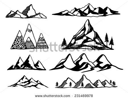 Mountain Vector Free Download