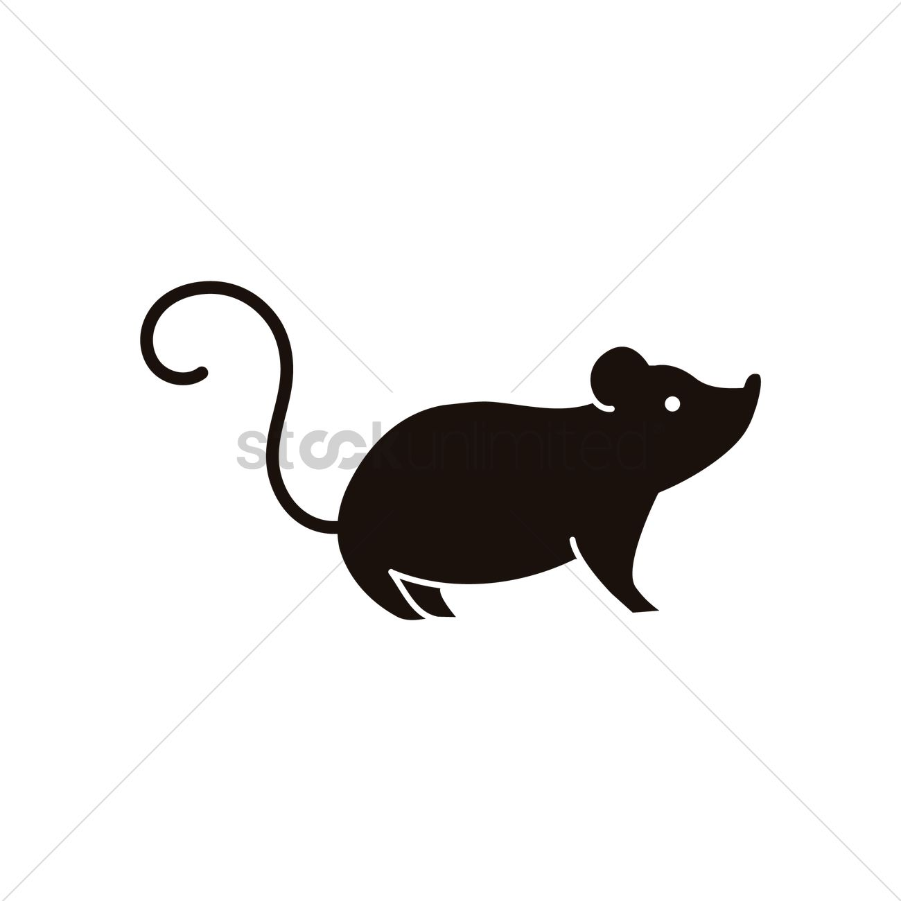 1300x1300 Mouse Icon Vector Image