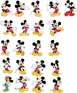 249x300 Mickey Mouse Logo Vector (.eps) Free Download