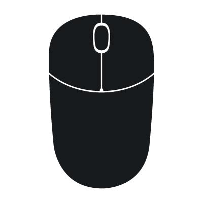 400x400 Computer Mouse Vector Clipart Panda