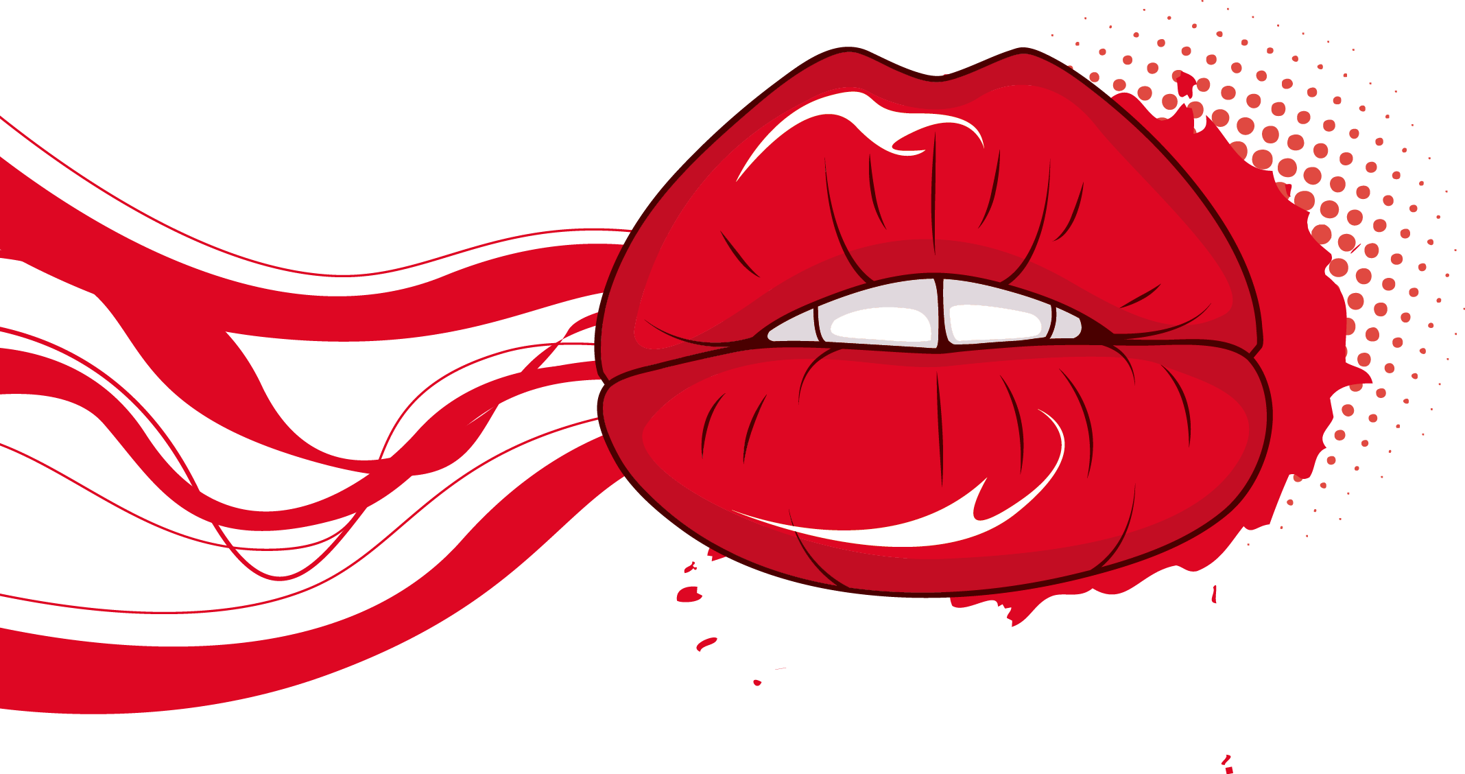 2136x1128 Lip Red Mouth