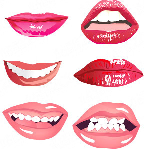 288x299 Mouth Free Vector Download (169 Free Vector) For Commercial Use