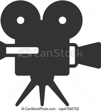 Movie Camera Vector